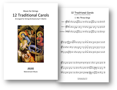 Twelve Traditional Carols - String Orchestra
