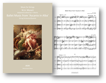 Ballet Music from Ascanio in Alba
