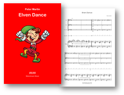 Elven Dance - Mixed Strings and Piano