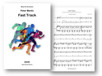 Fast Track - Mixed Strings and Piano