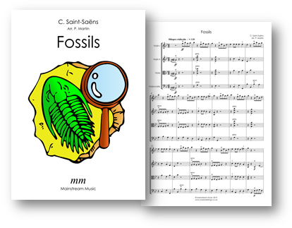 Fossils from The Carnival of the Animals - String Quartet - Orchestra
