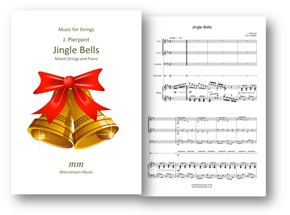 Jingle Bells - Junior Mixed Strings and Piano