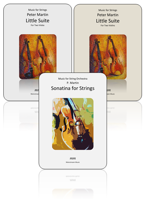 Little Suites for Violin/Viola Duet and Sonatina for Strings