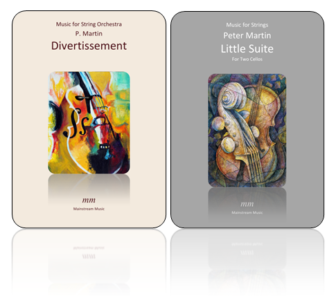 Divertissement and Little Suite for Two Cellos