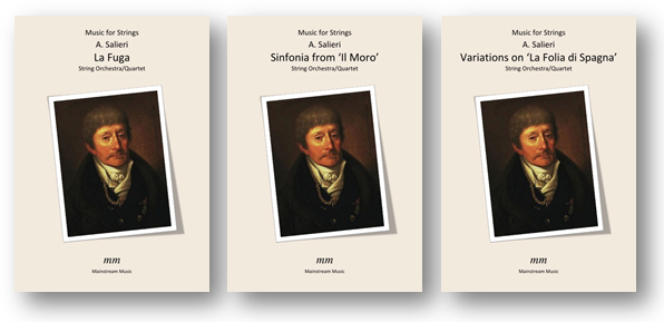 A new series of delightful scores by the much-underrated and maligned Italian composer Salieri