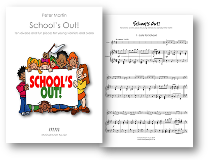 School's Out - Ten diverse and entertaining pieces for young violinists and piano