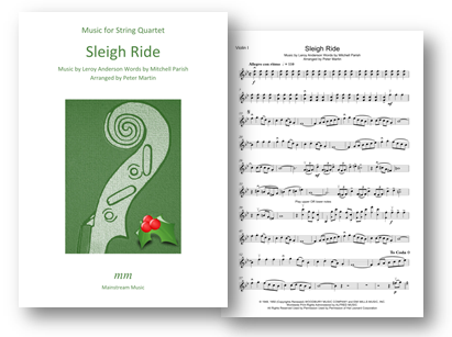 Arrangements of Popular Christmas Songs for String Quartet/Orchestra