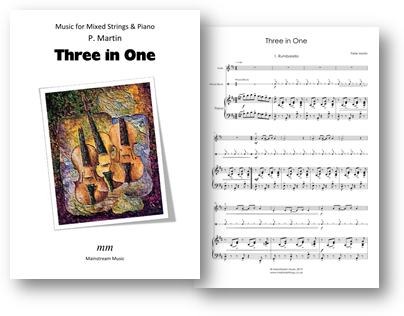 Three in One - Mixed Strings Percussion and Piano