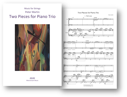 Two Pieces for Piano Trio