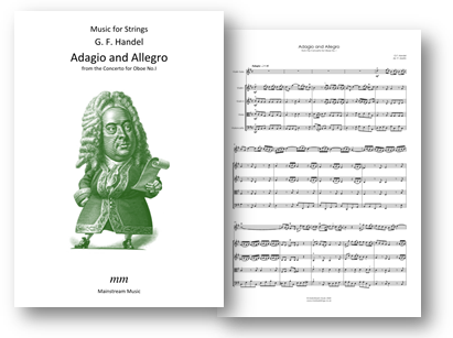 Adagio and Allegro from the Concerto for Oboe No 1