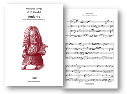 Andante from the Concerto for Oboe No IV