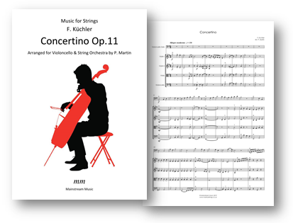 Kuchler - Concertino Op.11 - Solo Cello and String Orchestra