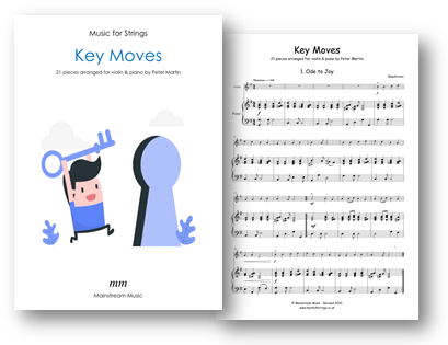 Key Moves - Violin and Piano