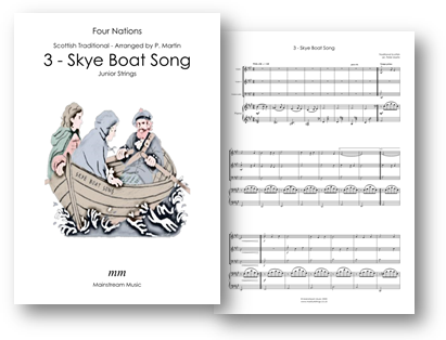 Skye Boat Song - Four Nations - Junior Strings