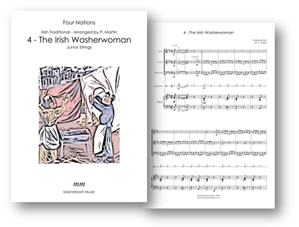 The Irish Washerwoman - Four Nations - Junior Strings