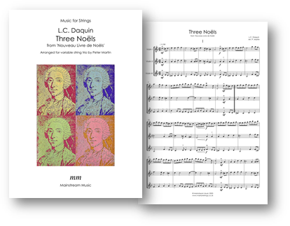Three Noels - Violin Trio and Flexible String Ensemble