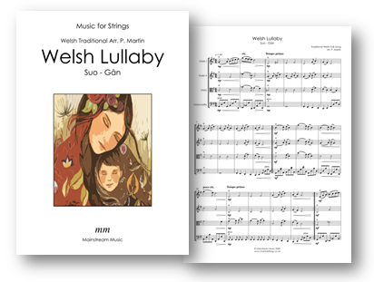 Welsh Lullaby - Suo-Gan - String Orchestra-Quartet